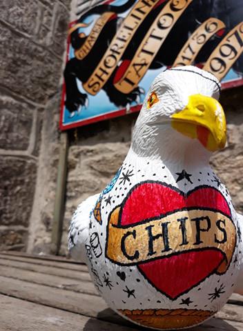 st ives bid seagull tattoo