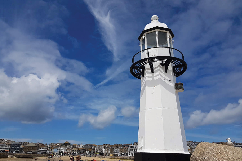 Smeatons Pier Lighthouse