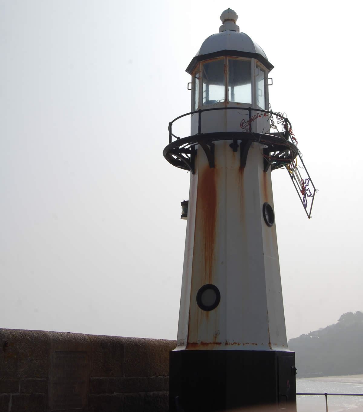 Smeatons Pier Lighthouse before