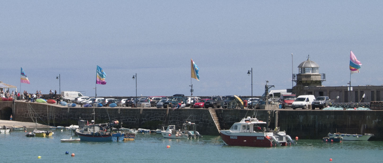 St Ives Harbour Flags