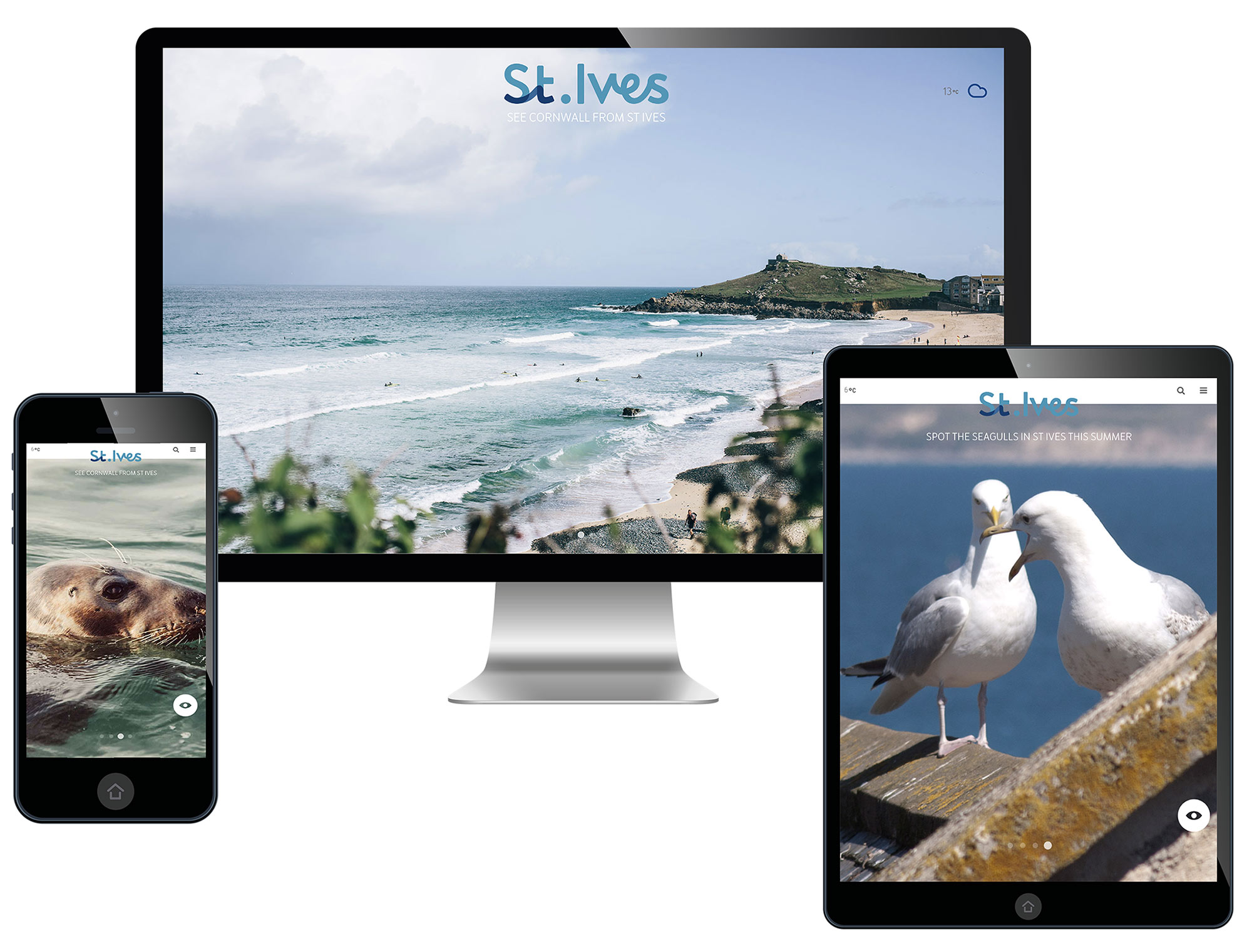 St Ives Destination Website with St Ives Tourism Association