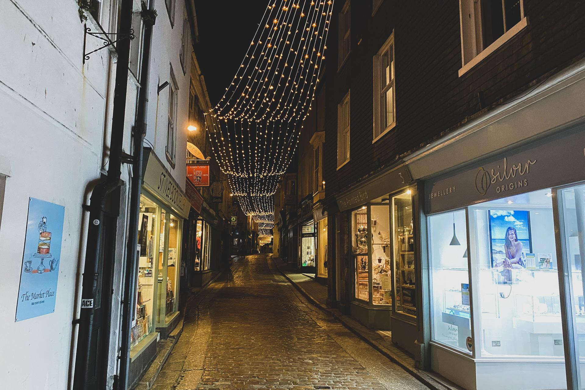 St Ives Bid Fore Street Lights-2020