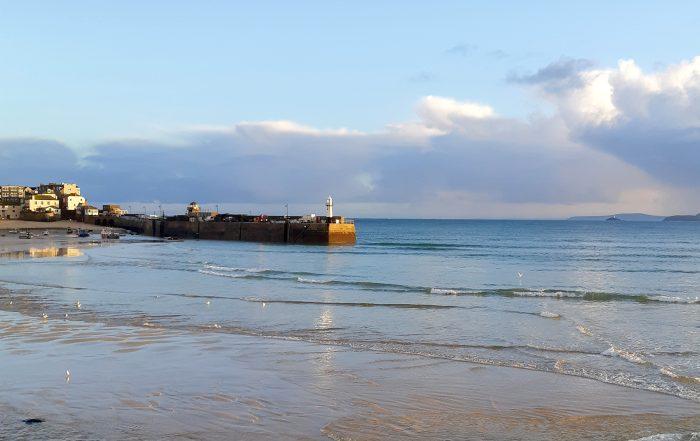 St Ives in Winter Sun