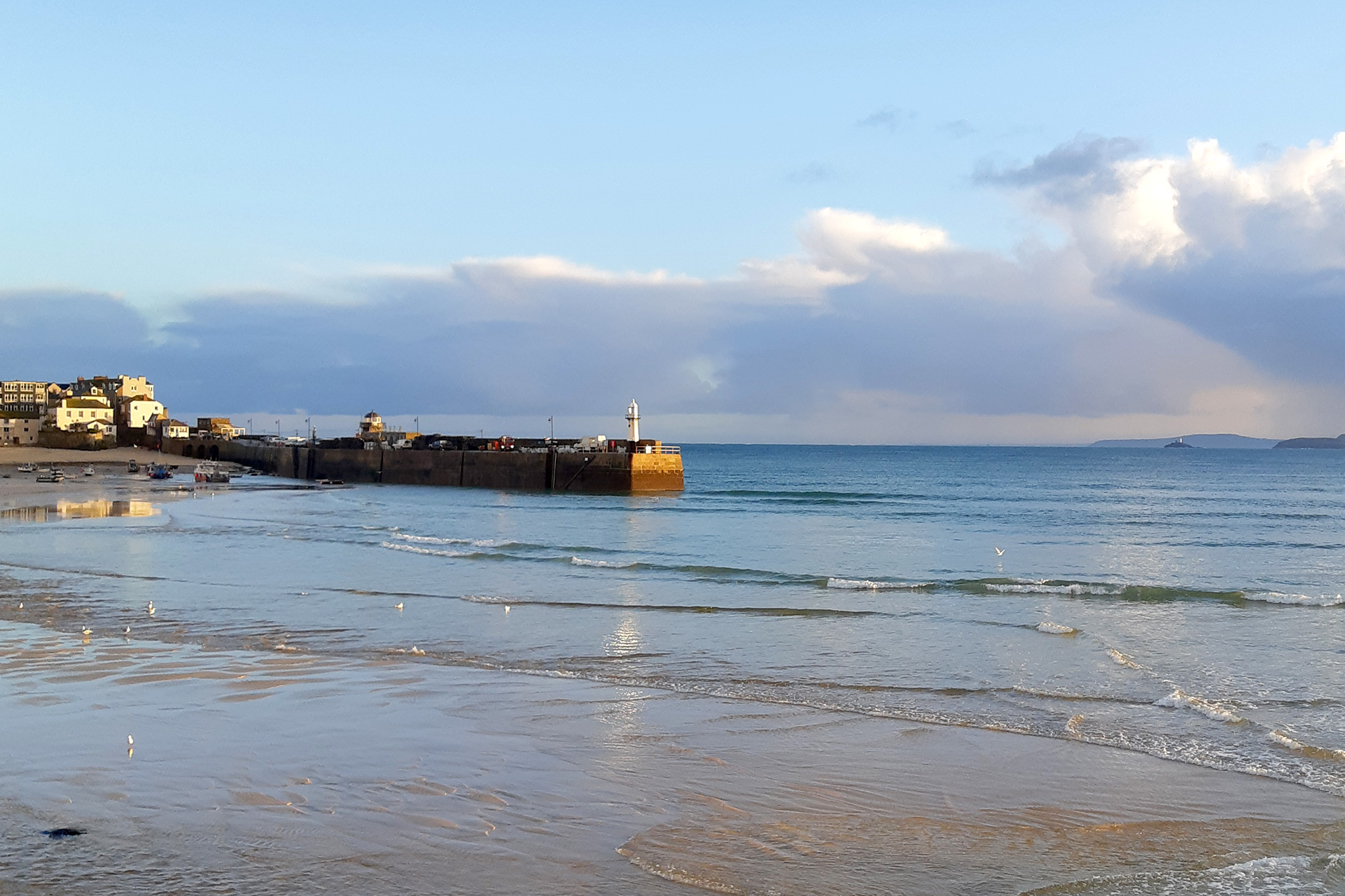 St Ives in Winter Sun