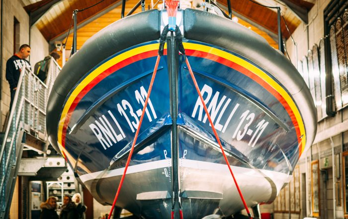 The St Ives Lifeboat